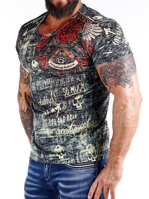 Skull and Roses Cipo & Baxx T skjorte Svart RockDenim