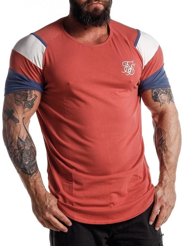 d7950662 Raglan SikSilk T-skjorte - Burgundy