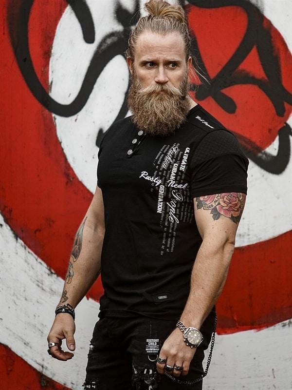 Bearded Art BIG SIZE S 5XL t skjorte