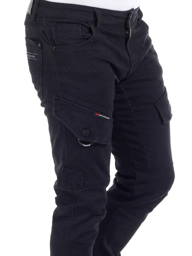 Borro Cipo & Baxx Cargo Bukse Svart