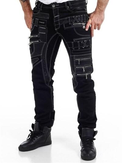 Royal Traveler Cargo Pants Med belte Mørkeblå RockDenim