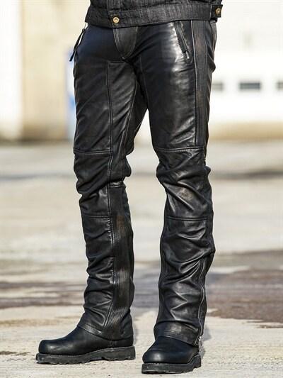 ed35d7d5 RD Premium Ghost Rider Skinnbukse - Svart/Gull