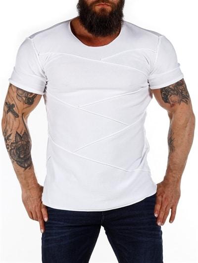 2 Pack Urban Seamless T skjorte Hvit RockDenim