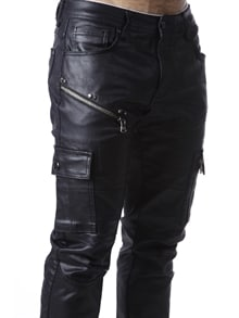 Lacerate Jeans - Jet Black