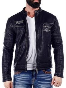 c6bc0521 ... Warrant Affliction Skinnjakke - Svart; B-WARRANT JACKET-1100w332 (1) ...
