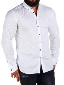 JS Smart Skjorte Hvit RockDenim