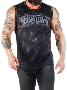 E-BADGE VEST-black grey (11)