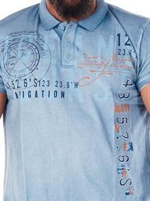 33747256 Coast Polo Skjorte - Blå - RockDenim