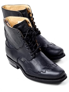 Henderson Leather Boots - Black (1)
