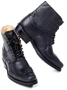 Henderson Leather Boots - Black (2)