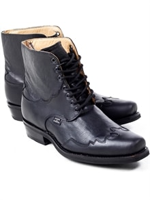 Henderson Leather Boots - Black (3)