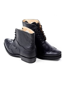 Henderson Leather Boots - Black (5)